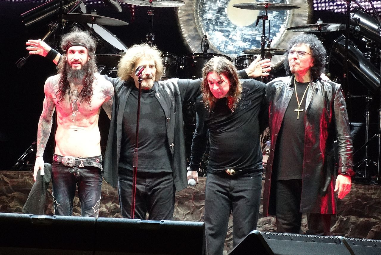 Black Sabbath Van Halen Tour