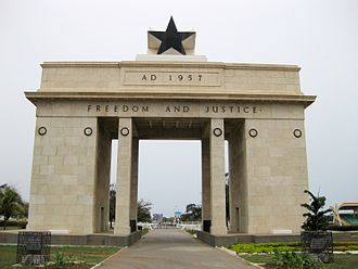 Black Star of Africa - Image: Black Star Monument, Accra, Ghana