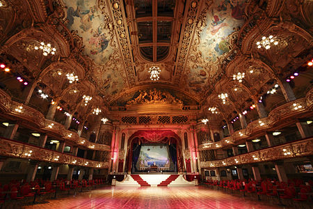 Ballroom of the Blackpool Tower