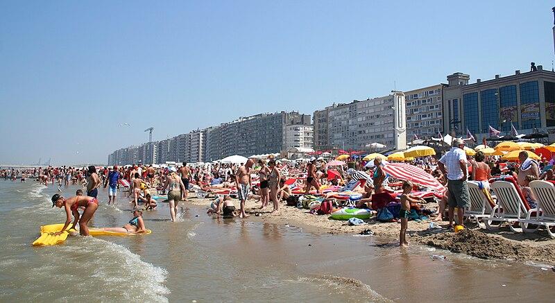 File:Blankenberge seaside.jpg