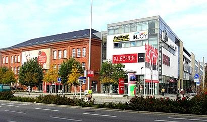 Cómo llegar a Blechen-Carré en transporte público - Sobre el lugar