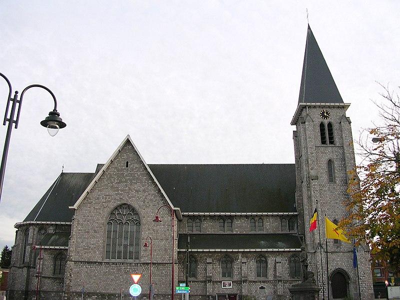Blegny bei Lüttich, Kirche S. Gertrude
