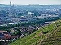 Blick über Mettingen Richtung Stuttgart mit Neckar bei Untertürkheim - panoramio.jpg
