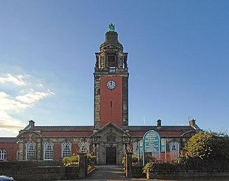 Liverpool Blue Coat School - Clock tower