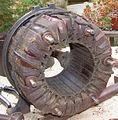 Bobinage en anneau d'un moteur à induction..jpg