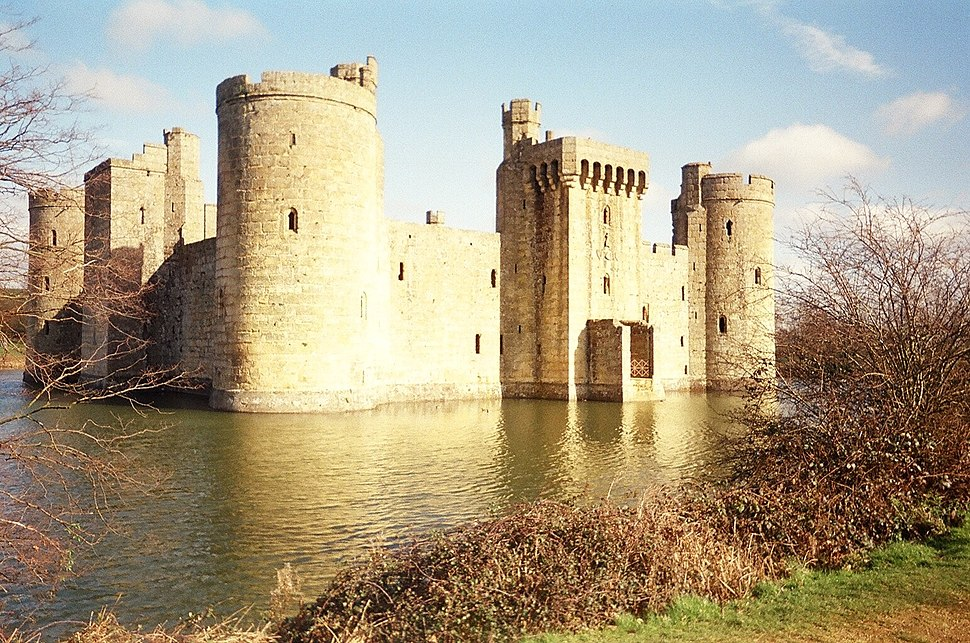 Bodiam Castle fromthe south