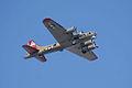Boeing B-17G-85-DL Flying Fortress Nine-O-Nine Arrival Pass 06 CFatKAM 09Feb2011 (14983577482).jpg