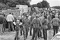 Boeren in de Wieringermeer demonstreren tegen openbare verkoop van staatsboerder, Bestanddeelnr 933-0400.jpg