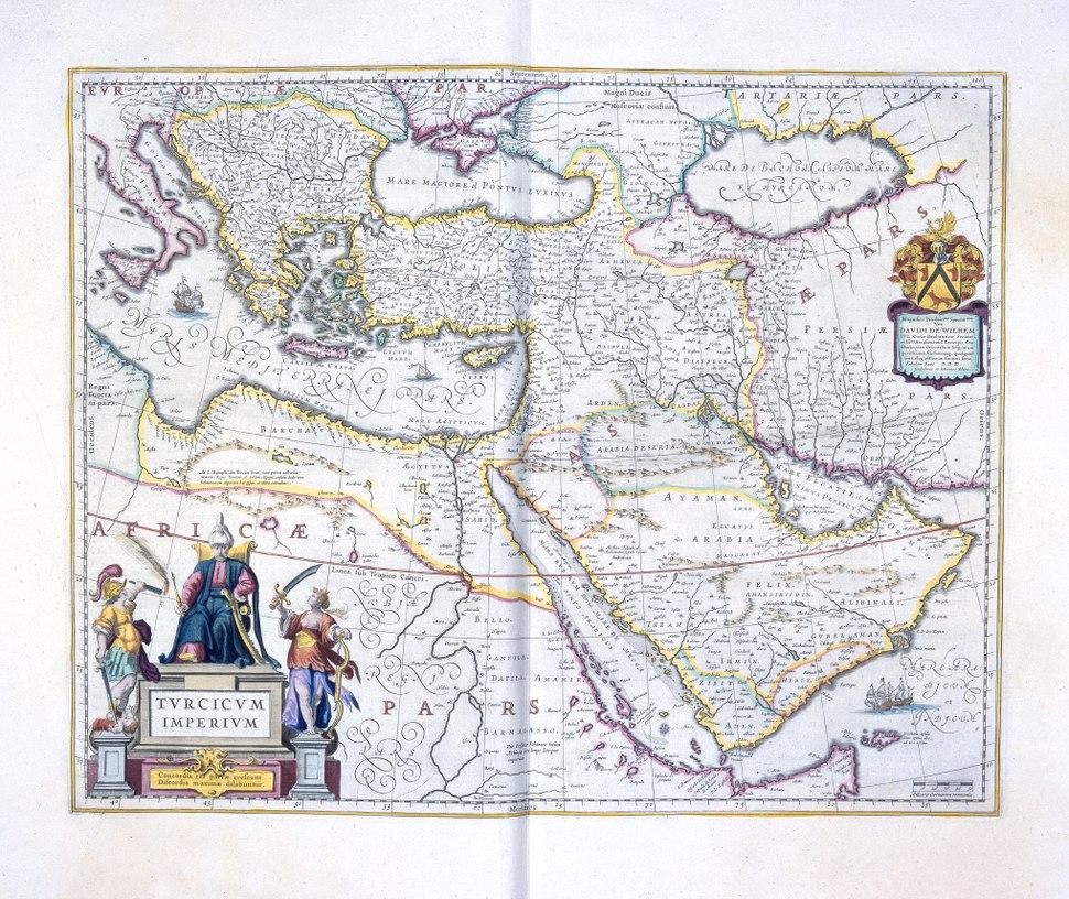 Boksida, karta ur Wr.110:5 (Turc. Imper. Asia Geographie (I.34.17) - Skoklosters slott - 82210