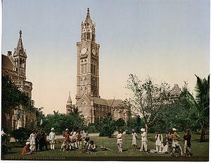 University of Mumbai - Bombay University Garden, circa 1890