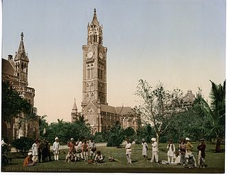 University of Mumbai - Bombay University Garden, circa 1890