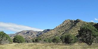 Bonita Canyon - Image: Bonita Canyon Arizona 2014