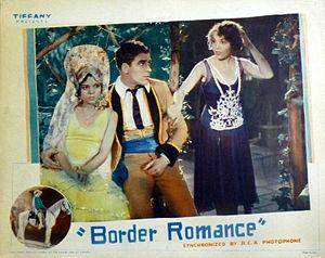 Border Romance - Lobby card