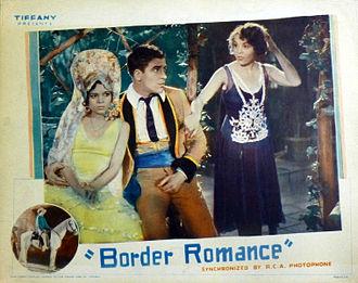 Armida (actress) - Film debut in Border Romance, 1929