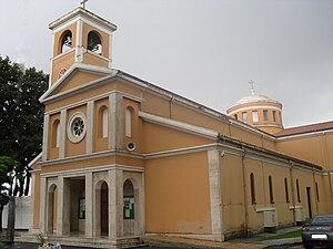 Latina, Lazio - Image: Borgo Sabotino church 3