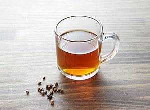 Barley tea - A cup of barley tea