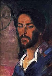 Boris Anisfeld (self-portrait, 1910s, private coll, USA).jpg