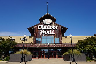 Bass Pro Shops - Bass Pro Shops Outdoor World at the Louisiana Boardwalk in Bossier City, Louisiana