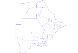 Sub-districts of Botswana - Sub-districts of Botswana