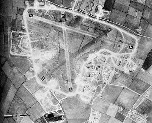 RAF Bottesford - RAF Bottesford, April 1944.  Today, most of the airfield remains intact.