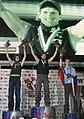 Boulder Worldcup Vienna 29-05-2010b winners2 Kilian Fischhuber 1 Adam Ondra 2 Alexey Rubtsov 3.jpg