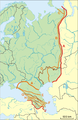 Boundary between Europe and Asia (green shade).png