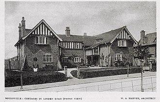 William Alexander Harvey - Cottages in Linden Road