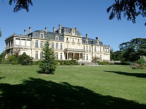 Mérignac, Gironde - Castle of Bourran