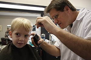 Barber - Simple English Wikipedia, the free encyclopedia