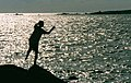 Boy on rocks - geograph.org.uk - 590987.jpg