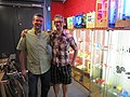 Bre and Me, at the Botcave! (5811824800).jpg