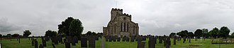 Church of St Mary and St Hardulph, Breedon on the Hill - Image: Breedon Priory panorama