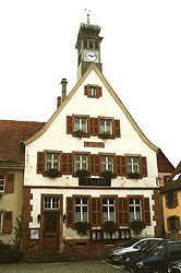 Town hall of Breitenbach