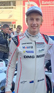 Brendon Hartley racing driver, 2015, 2017 World Endurance Drivers Champion