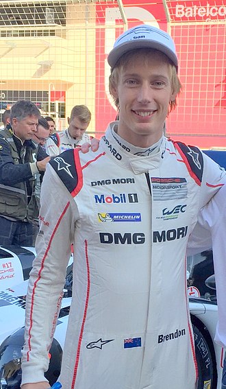 Brendon Hartley - Brendon Hartley in 2015
