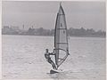 Brian Bryce at the intervarsity windsurfing championships, Dromineer Co. Tipperary 1990 (9449936537).jpg
