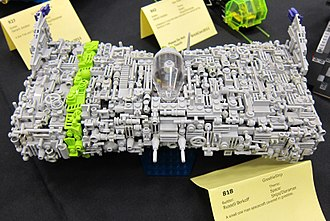 Greeble - Greeble effects on a Lego spaceship model