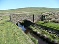 Bridge over the catchwater channel, Rishworth (Ripponden) - geograph.org.uk - 837949.jpg