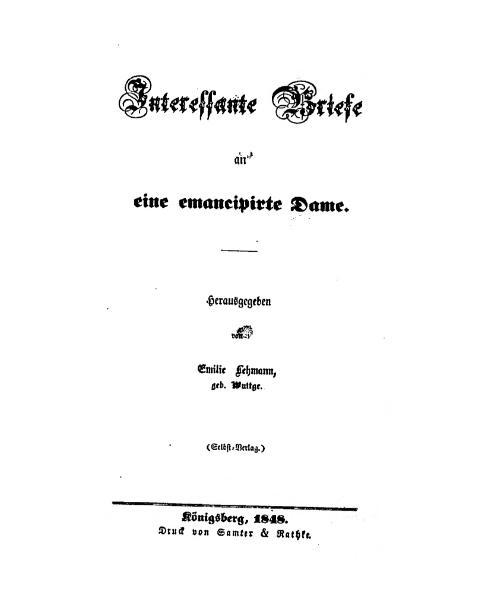 File:Briefe an eine emancipirte Dame.djvu