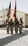 Brigade Headquarters Group - Afghanistan cases unit colors aboard Camp Leatherneck 140725-M-JD595-9526.jpg
