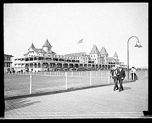 Brighton Beach Race Course - Located next to the race track, the Brighton Beach Hotel was also developed by William A. Engeman