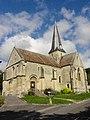 Brignancourt (95), église Saint-Pierre-aux-Liens, vue depuis le sud-ouest 4.JPG