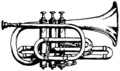 Britannica Cornet B♭ with Strictly Conical Bore.png
