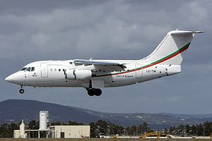 Bulgaria Air - Bulgaria Air Avro RJ70 Business Jet