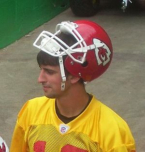 Brodie Croyle - Croyle while with the Kansas City Chiefs in 2008.