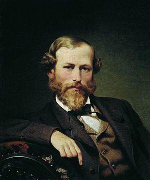 Konstantin Flavitsky - Konstantin Flavitsky (1866). Portrait by Fyodor Bronnikov