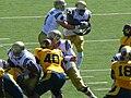 Bruins on offense at UCLA at Cal 2010-10-09 9.JPG