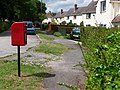 Bryanston, postbox No. DT11 128, The Cliff - geograph.org.uk - 1374896.jpg