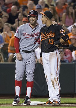 Bryce Harper and Manny Machado on July 10, 2015.jpg
