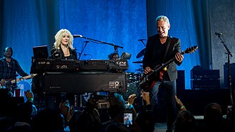 Lindsey Buckingham - Buckingham and McVie performing live in 2017.